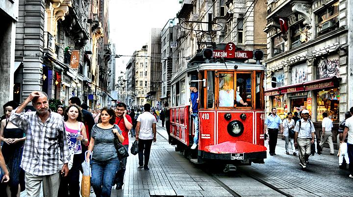 Istanbul Istiklal Avenue