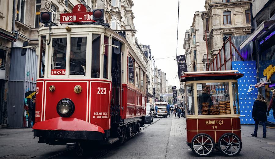 Istiklal Avenue Istanbul