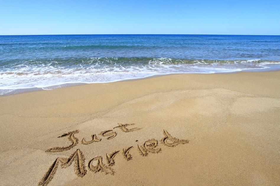 Just married in Turkey