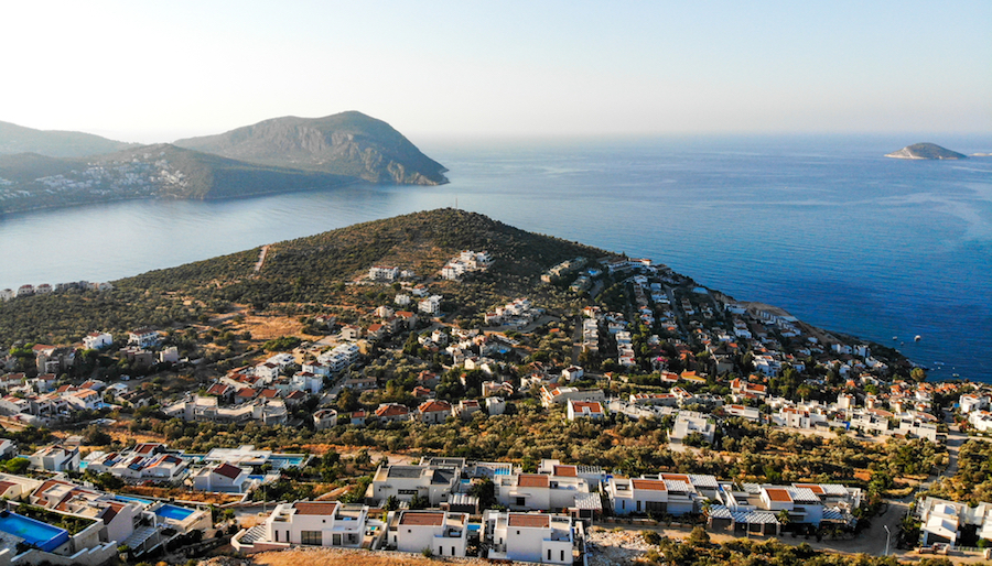 Kalkan in Turkey