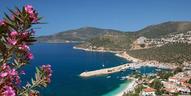 Kalkan Turkey beach