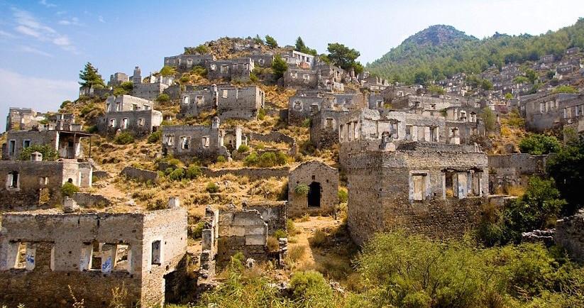 Kayakoy Ghost Village Turkey