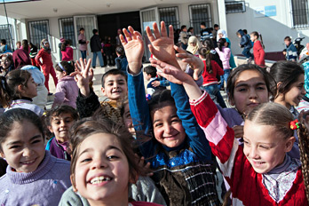 Refugee children in Kilis