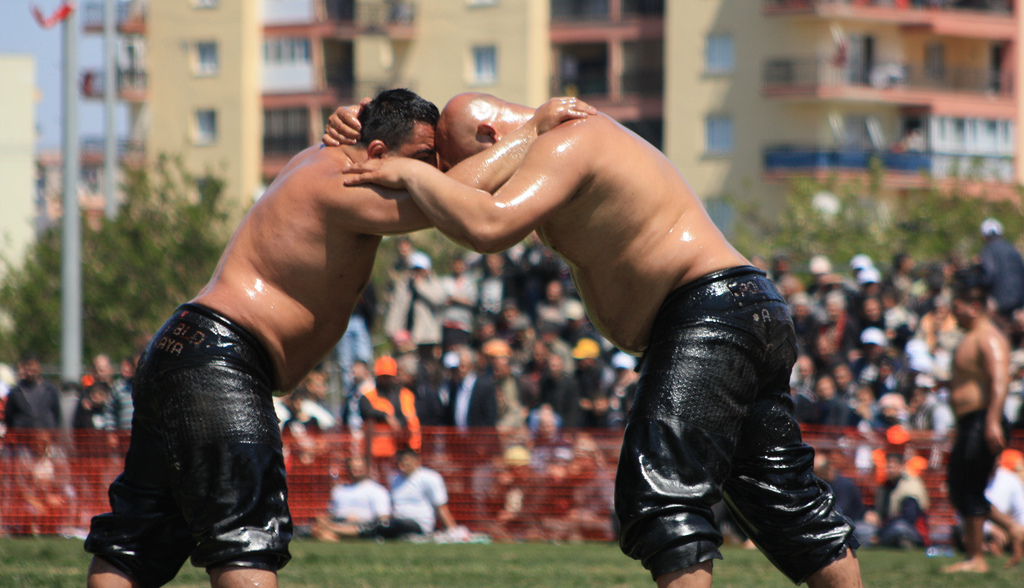 Kirkpinar Oil Wrestling