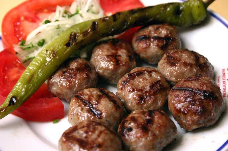 Kofte, Turkish food