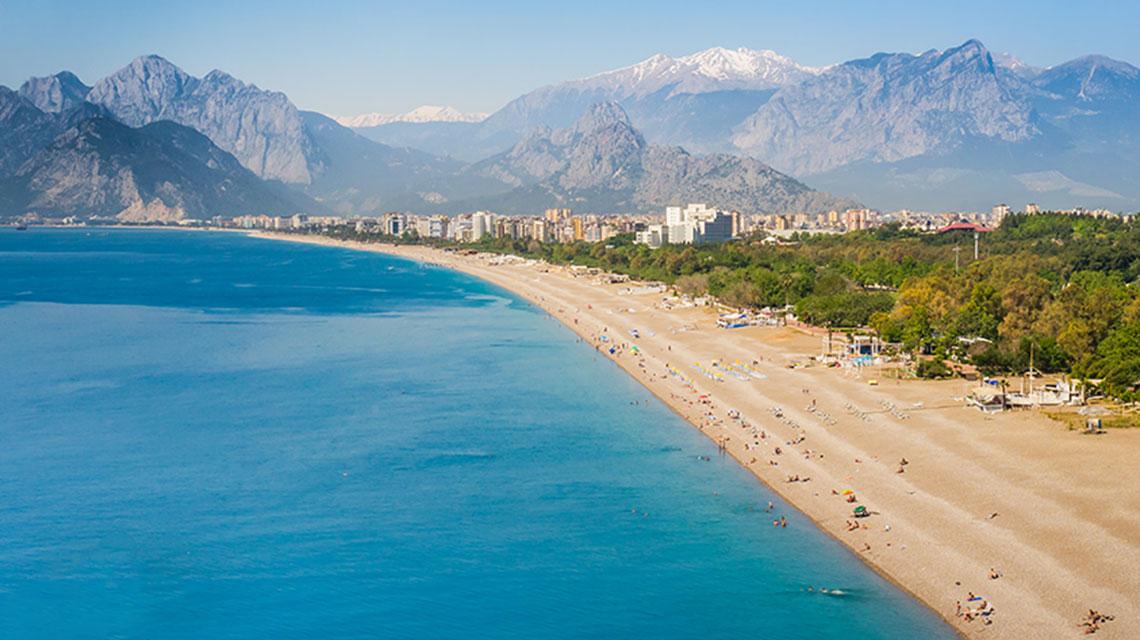 Konyaalti beach Antalya