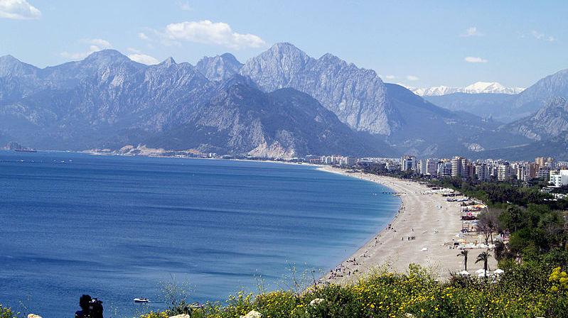 Konyaalti beach