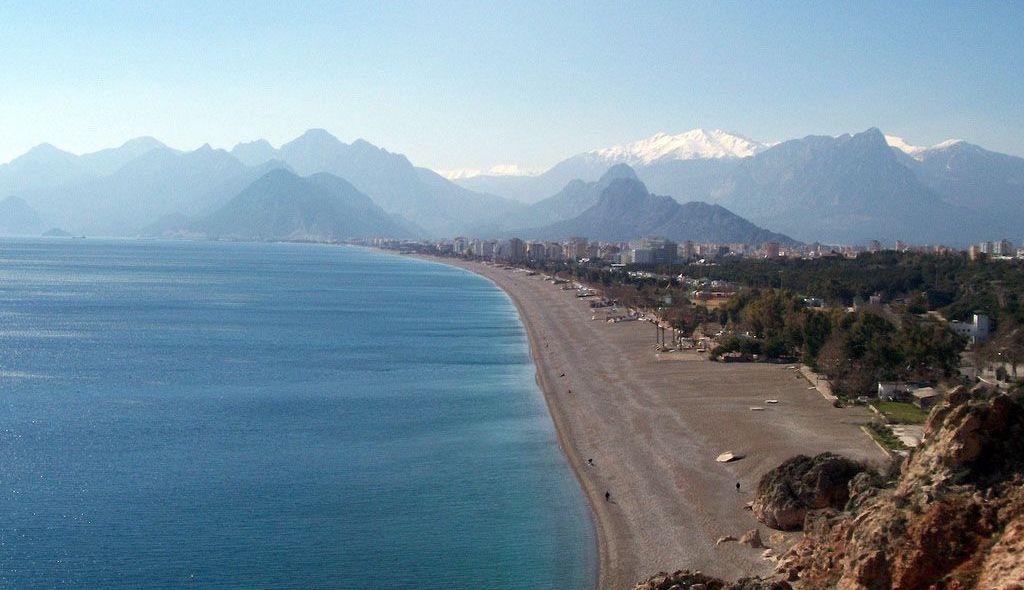 Beach in Antalya Konyaalti