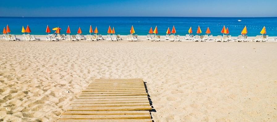 Lara beach Antalya