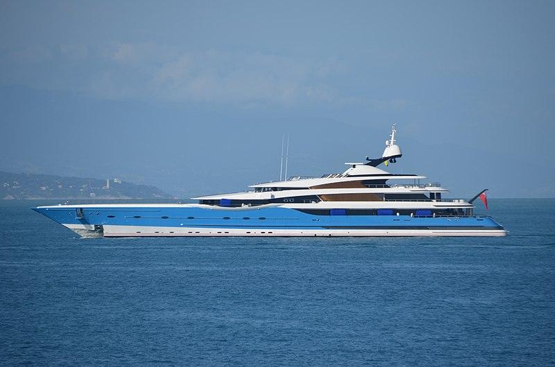 Madame Gu, superyacht in Turkey