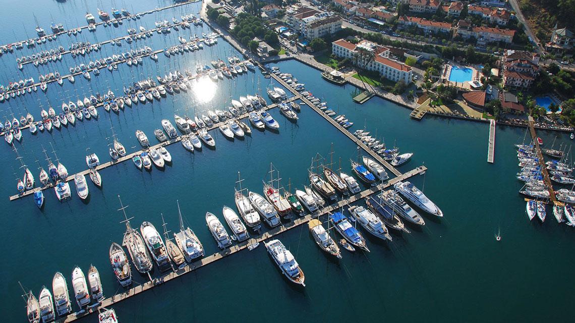the exclusive marina lifestyle of turkey property turkey