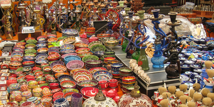 Shopping in Turkey