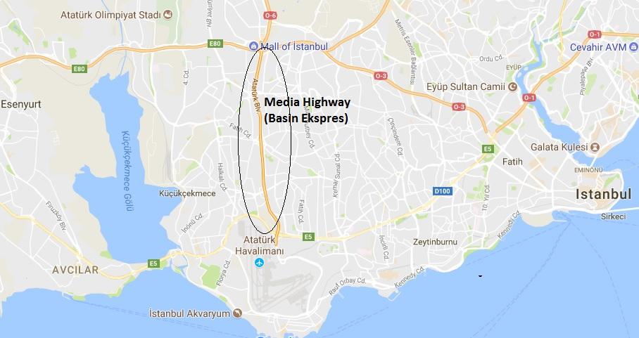 伊斯坦布尔贝辛媒体高速公路