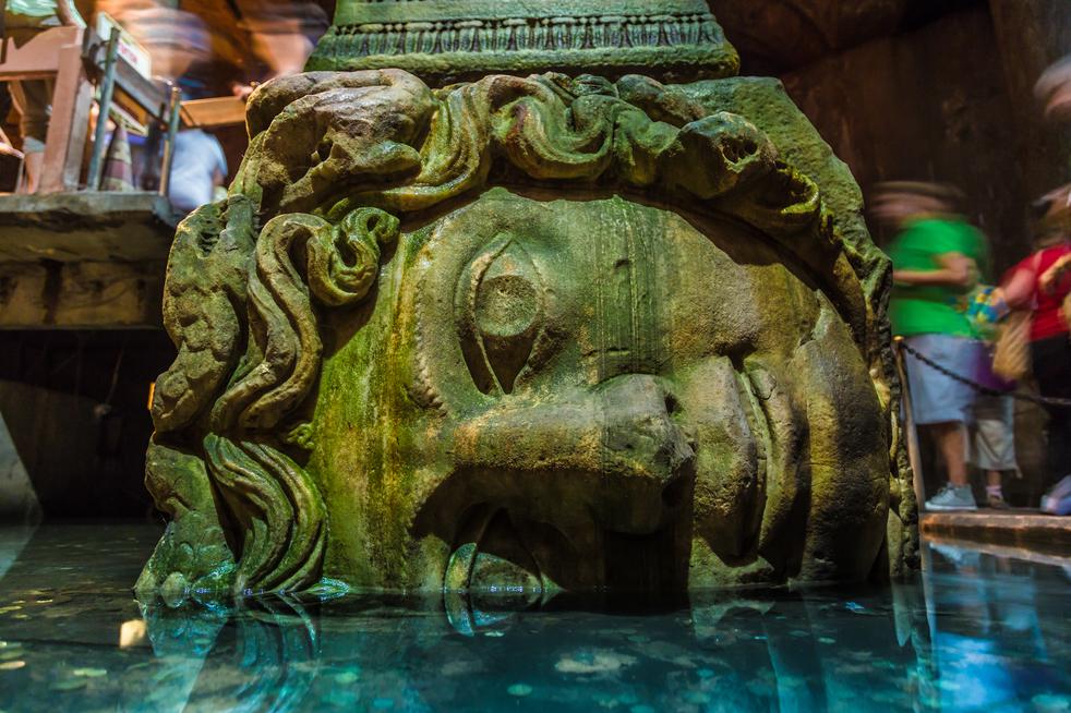 Heads of Medusa Turkey