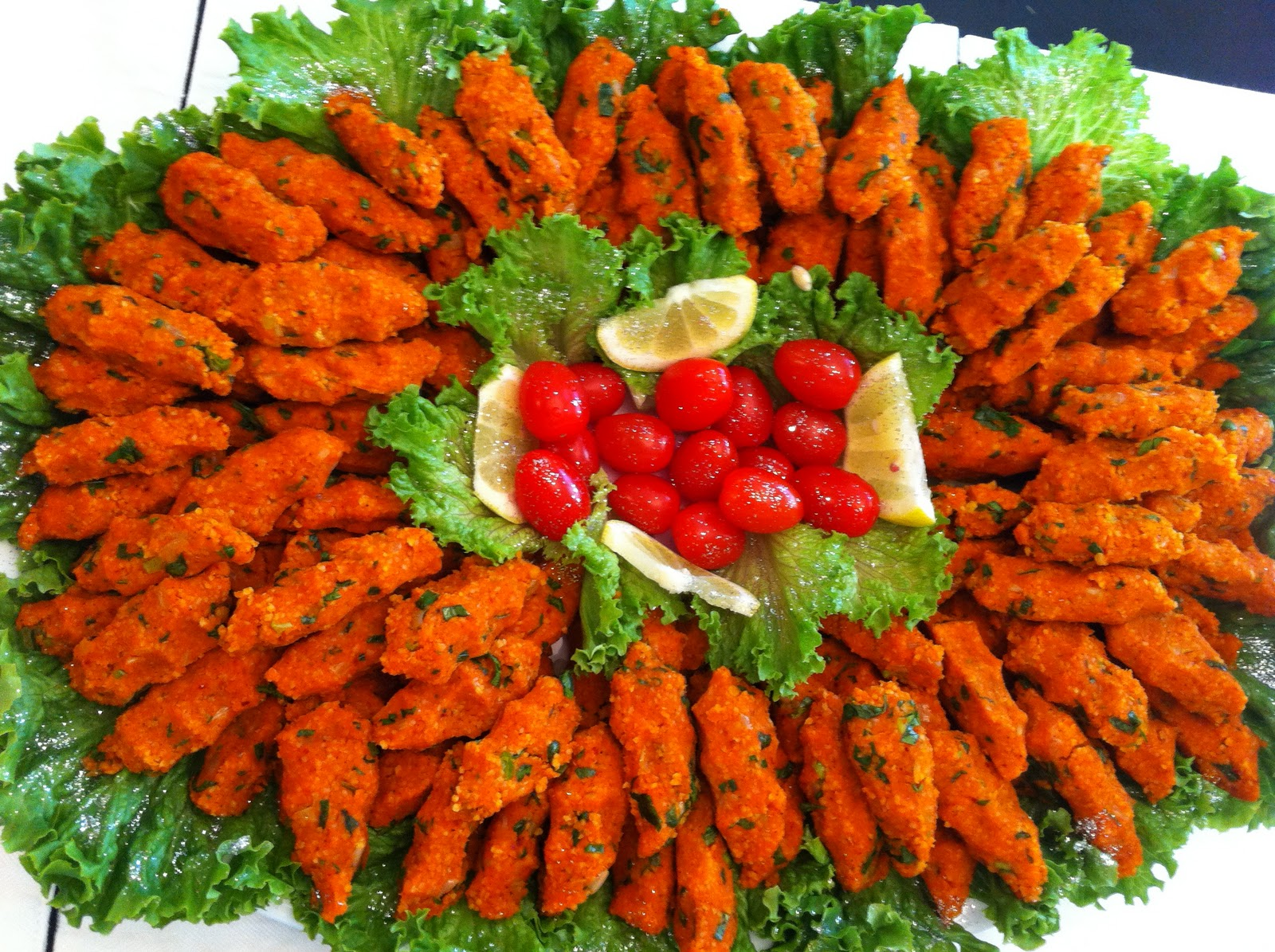 Mercimek koftesi, Turkish food