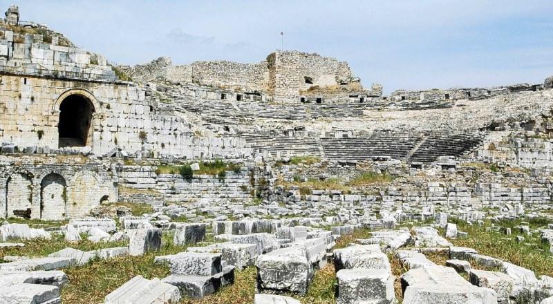 Miletus theatre Turkey