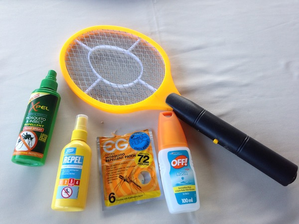 Mosquito arsenal