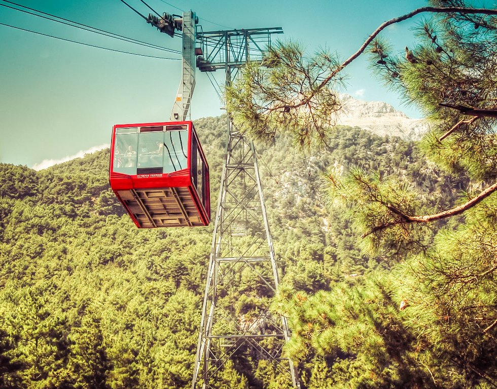 Cable car Mount Tahtali