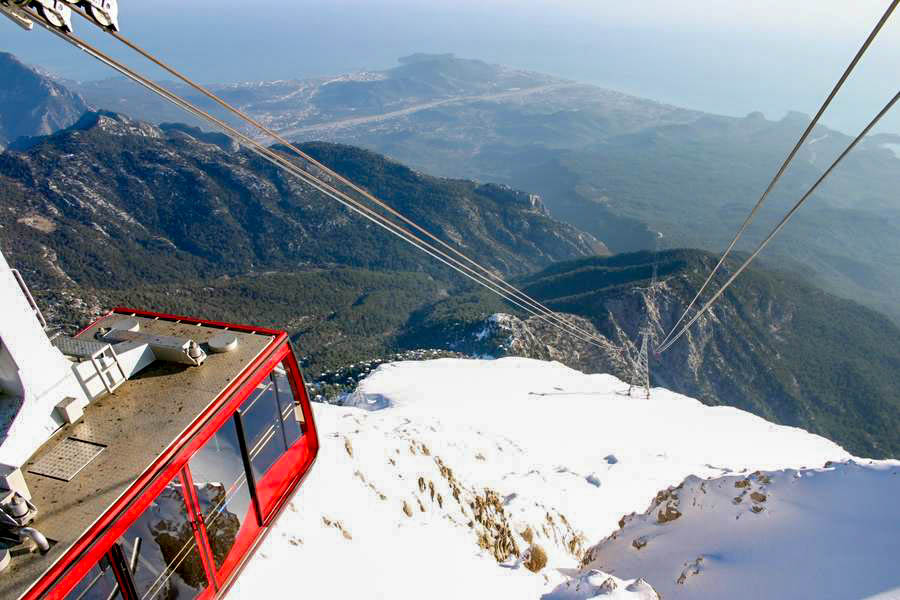 Mount Tahtali cable car