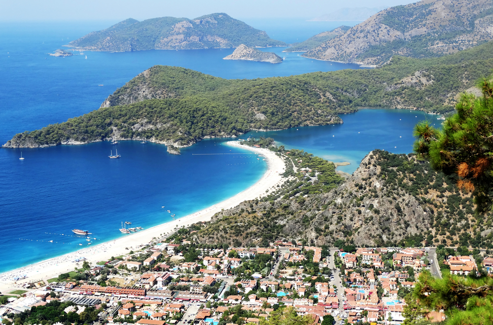 Mugla province Turkey