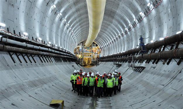Eurasia tunnel, Istanbul