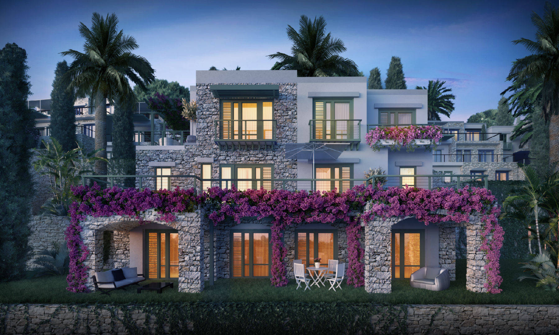 Banyan Tree Residences townhouse, Yalikavak, Bodrum