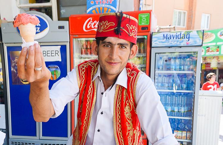 smiling Turkish man