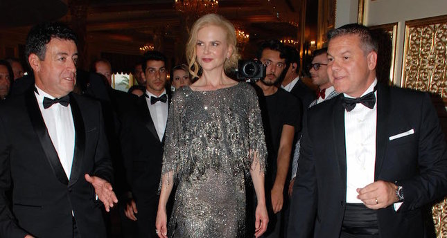 Nicole Kidman at The Bodrum opening