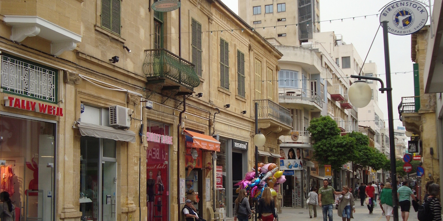Nicosia Street Cyprus