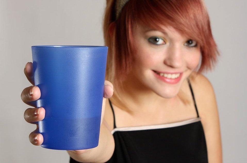 Offer drink