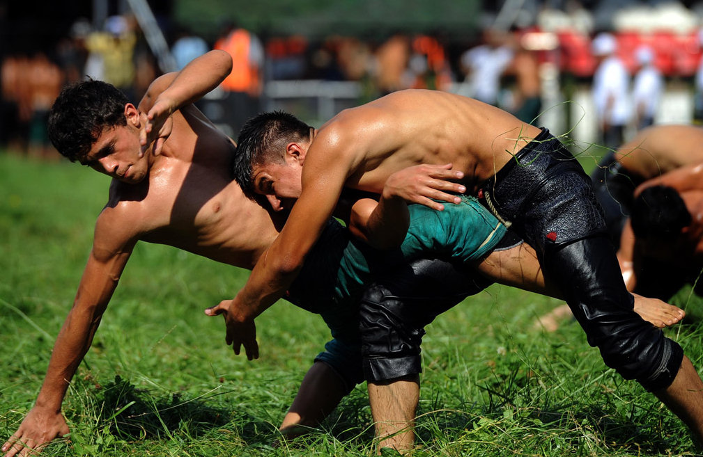 Oil wrestling, Turkey