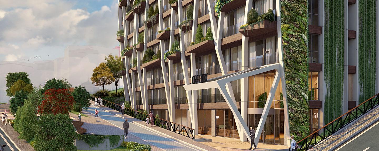 Oxygen Sisli, Istanbul green building
