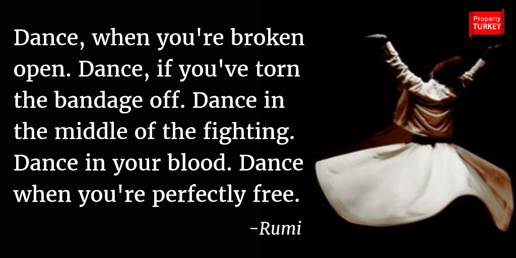 Rumi quote about dance