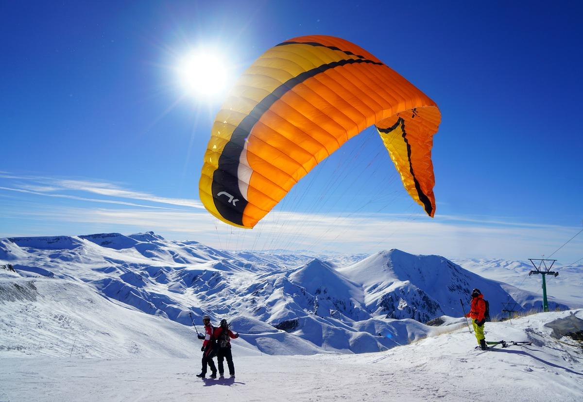 帕兰多肯滑雪土耳其