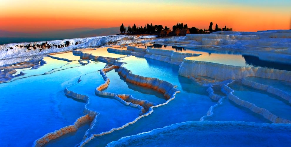 Pamukkale hot springs