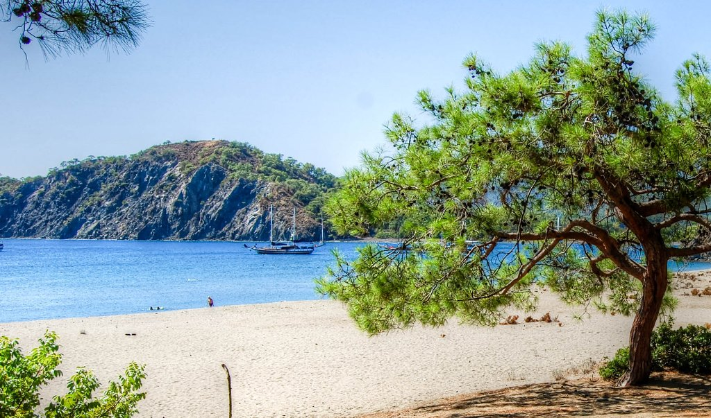 Phaselis beach Antalya