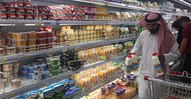 Turkish products in Qatari supermarkets