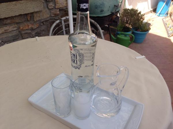 Турецкая водка (раки)