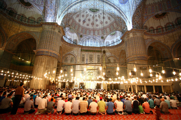 Blue Mosque at Ramadan