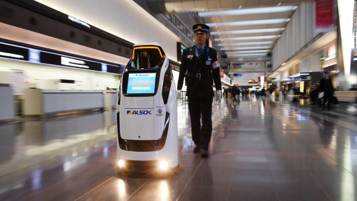 Robots Istanbul Airport