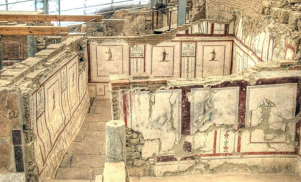 罗马露台房屋以弗所
