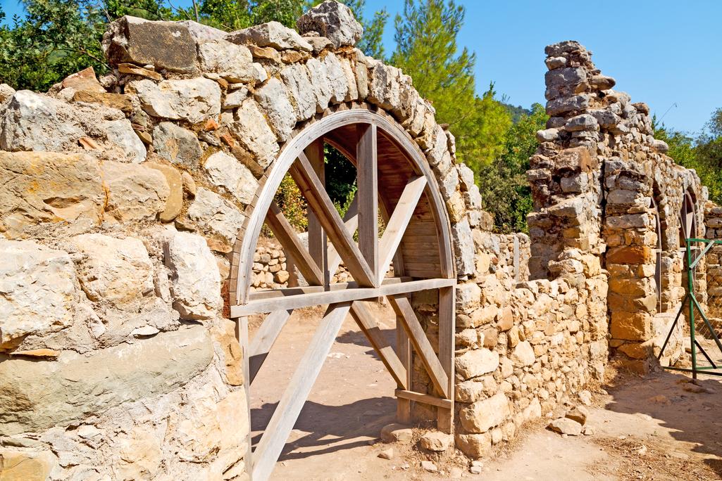 Olympos ruins Turkey