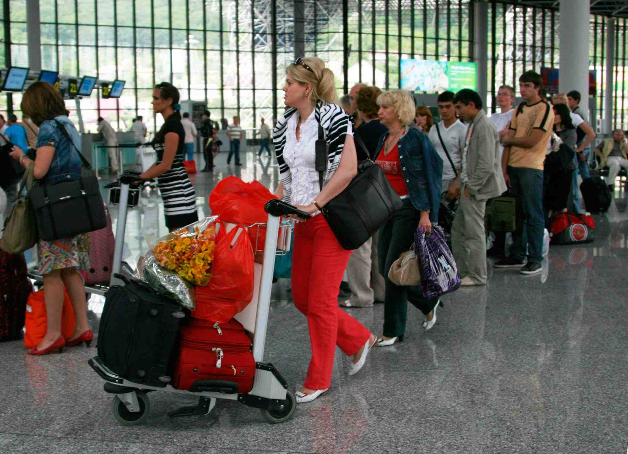 Russian tourists flocking to Turkey