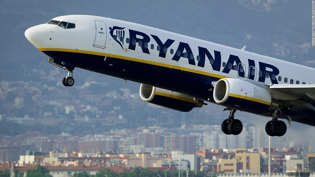 Ryanair flying to Turkey