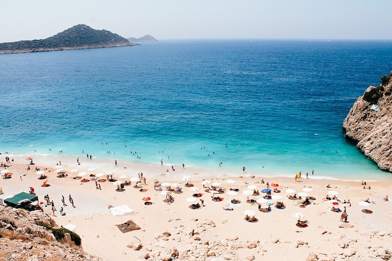 Beach in Antalya