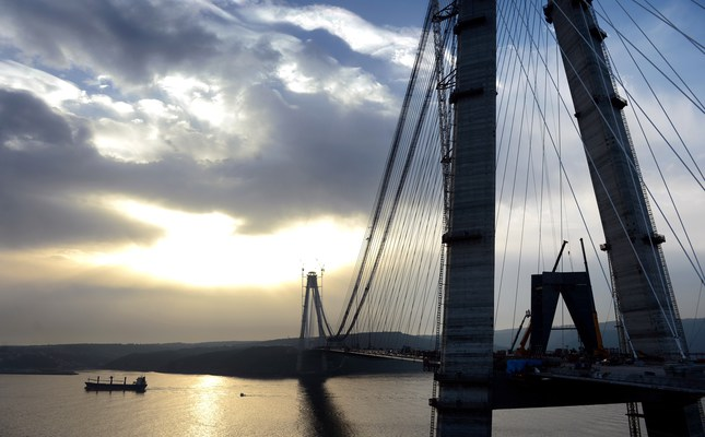 Istanbul's third bridge megaproject