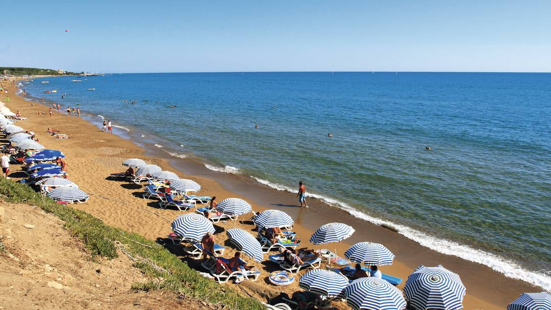Beaches in Side Turkey