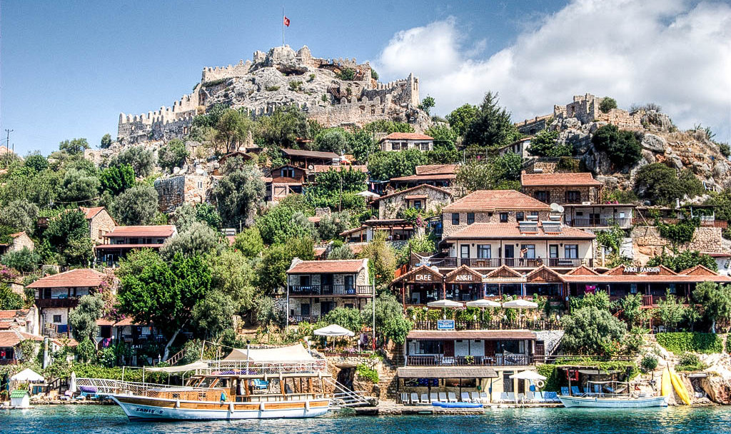 Simena castle, Turkey