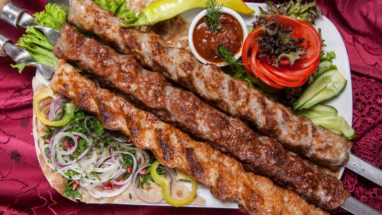 Sis kebab, Turkish food