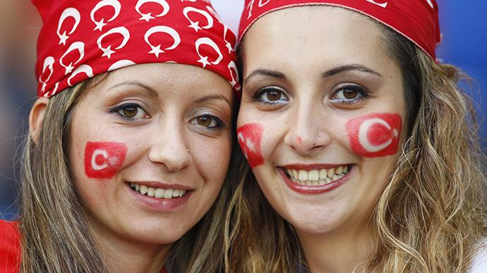 приветливые турчанки